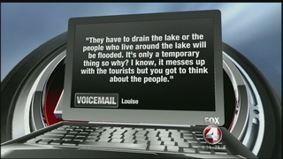 Viewer's Voice: Emergency lake water release