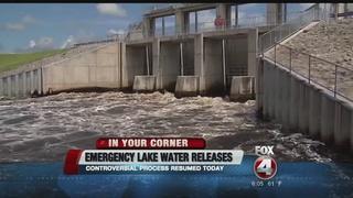 Emergency Lake O water releases underway