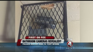Possible cameras in roller rink bathrooms?