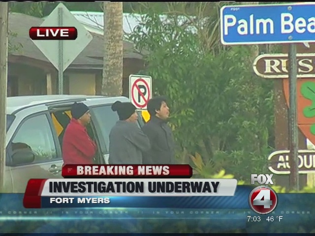 Fort Myers investigation underway