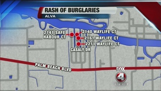Alva burglaries leave neighborhood on edge