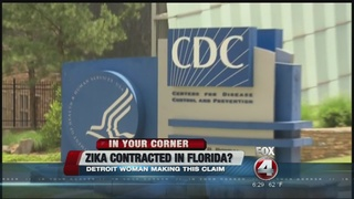 Michigan resident claims she got Zika in Florida
