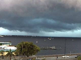 Video Time Lapse of Shelf Cloud in Punta Gorda