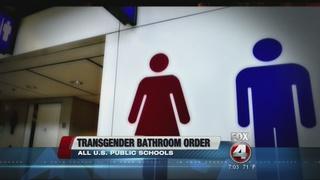 Transgender bathroom access directive given