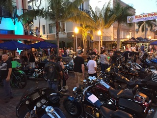 Photos of the last Downtown Bike Night