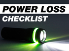 Power outage checklist