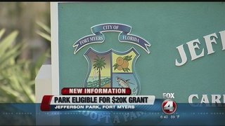 Fort Myers park up for redevelopment grant