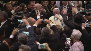 Pope: gays and others deserve an apology