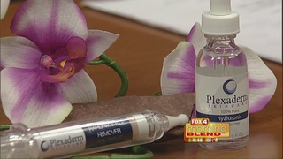 Removing eye bags with Plexaderm 7/27/16