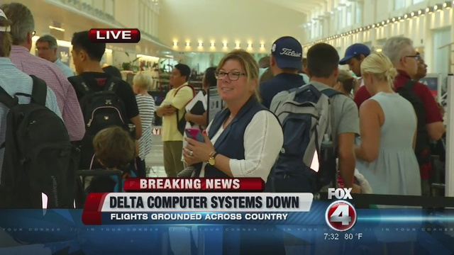 Delta delays at Savannah/Hilton Head airport could spill into Tuesday