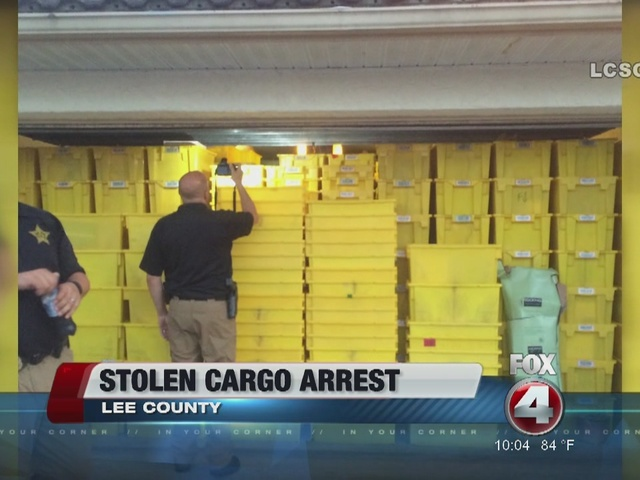 Garage full of stolen Amazon orders found in Lee County