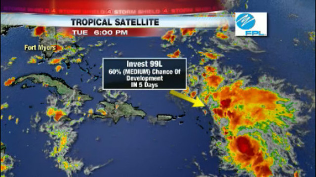 Will the Tropical System Develop?