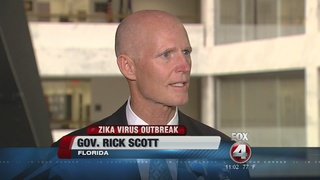 Florida Gov. Scott presses for Zika money