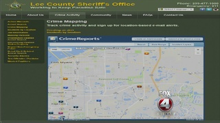 LCSO interactive crime map updated after Four...