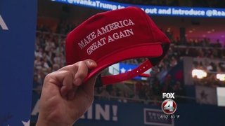 Free Trump tickets sold at steep price