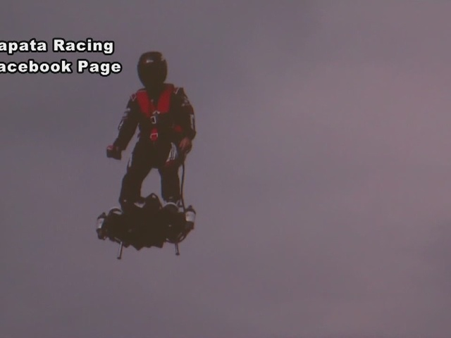 Flyboard Air demonstration in Collier not certified with FAA