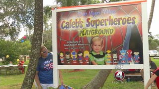 Caped Crusaders take over a Fort Myers park