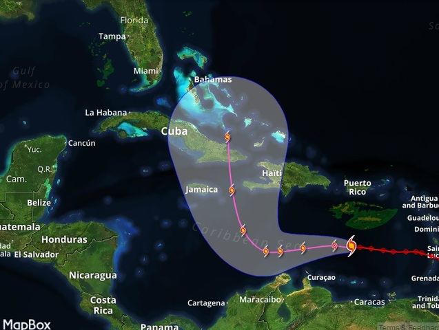 Matthew becomes a hurricane in Caribbean