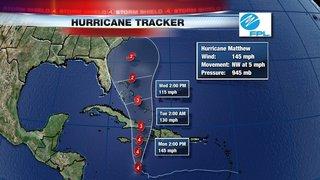 Matthew still a major hurricane in the Caribbean