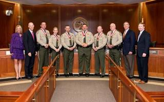 FWC officers awarded Medal of Heroism