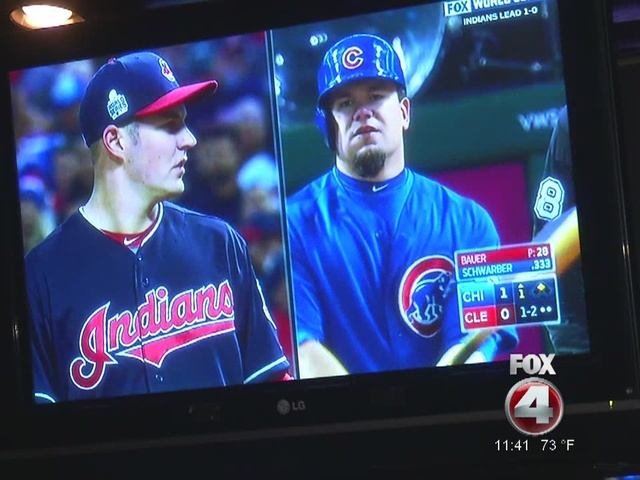Cleveland Indians watch party for Game 2