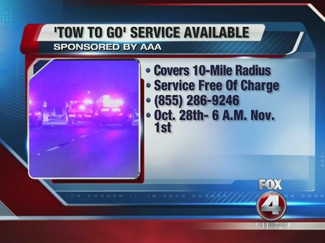 Free Towing on Halloween: AAA Sponsored