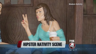Hipster nativity scene a big seller