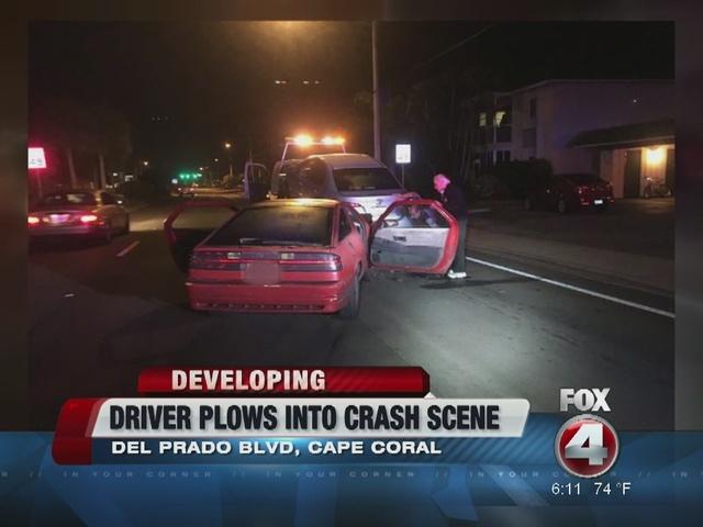 Fort Myers man hits existing crash
