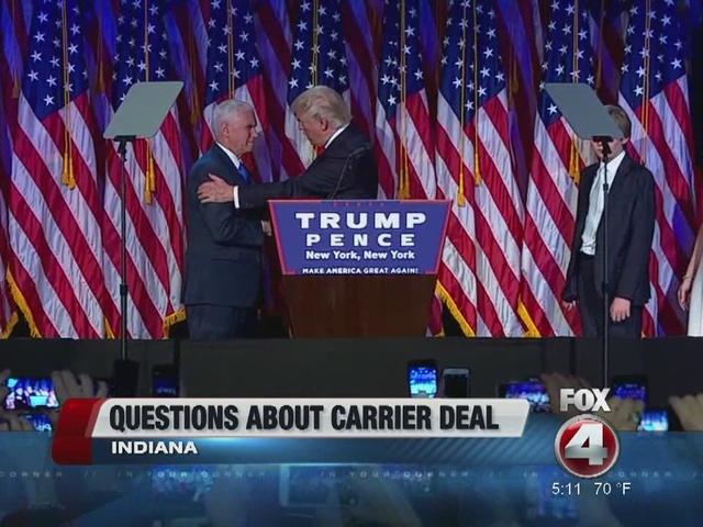 Trump, Pence head to Indiana