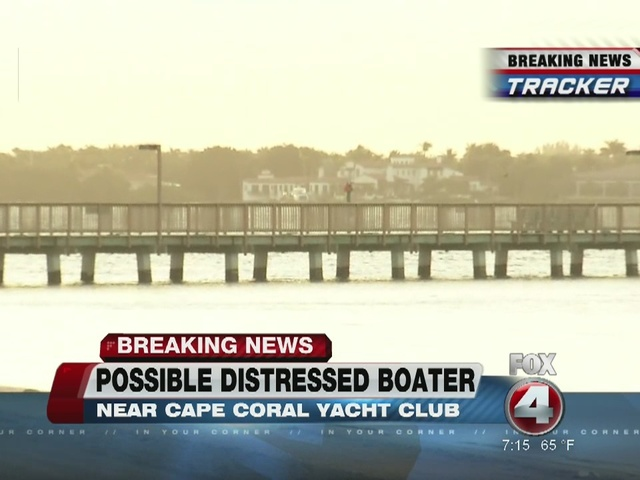 Search for distressed boater in Caloosahatchee under way