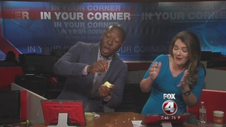 Fox 4 takes on the Apple Challenge