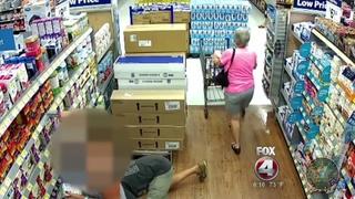 FL man roams Walmart looks under women's skirts