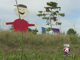 Charlie Brown Christmas display warms hearts