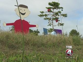 Charlie Brown Christmas display warms hearts