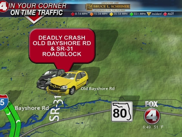 Fatal crash on State Road 31 in North Fort Myers