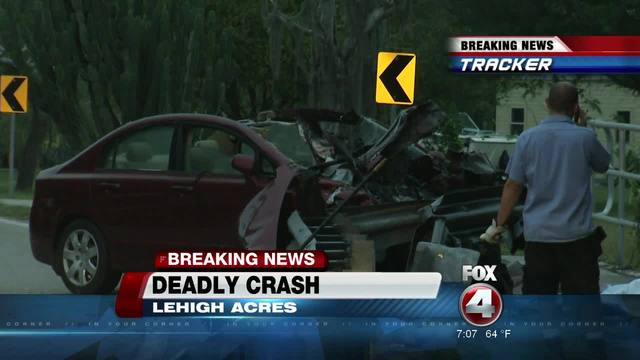Fatal crash in Lehigh Acres - 7 a-m- update