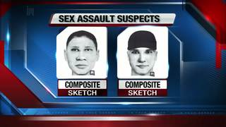 Suspect sketches released in FGCU sexual battery