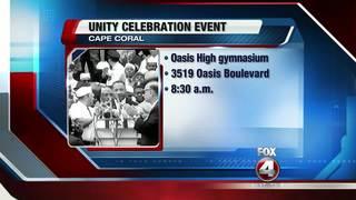 MLK Unity Celebration planned Monday night