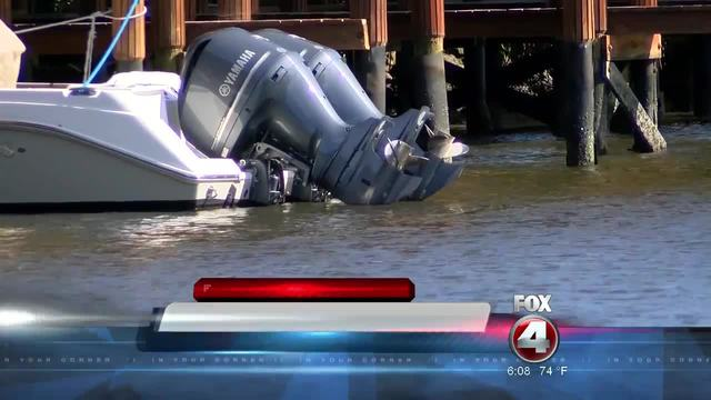 Outboard motor thefts in Naples