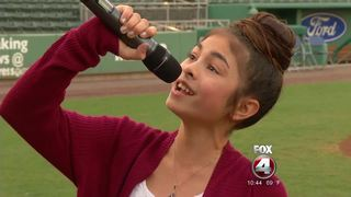 Red Sox hold National Anthem Auditions