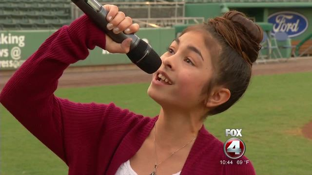 Red Sox National Anthem Tryouts
