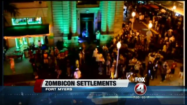 Fort Myers to decide on Zombicon shooting settlements