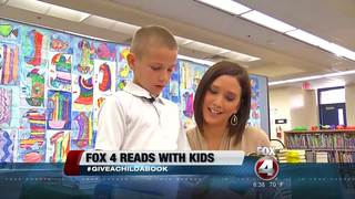 Fox 4 celebrates National Reading Day