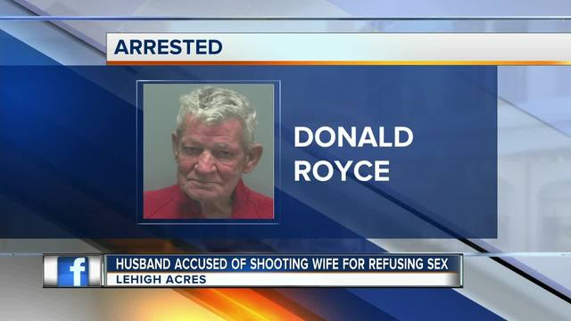 76-year-old newlywed allegedly shot wife in butt for refusing sex