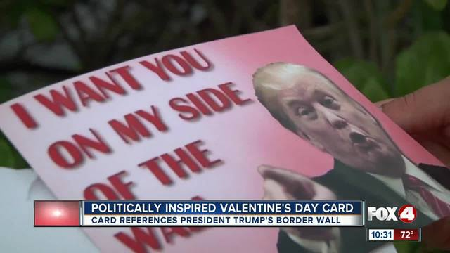Mother outraged by Trump border wall-inspired Valentine-s card given to…