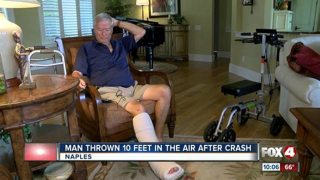 Naples man-s ankle nearly severed in hit and run