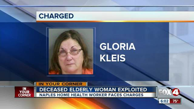 Naples woman accused of pawning deceased client-s jewelry