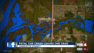 1 dead after crashing into pole in Charlotte Co.