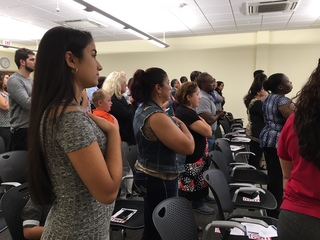 Naturalization Ceremony in Fort Myers