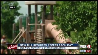 New bill requires recess at Florida schools